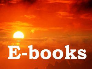 De E-books kunt u bestellen in deze webshop